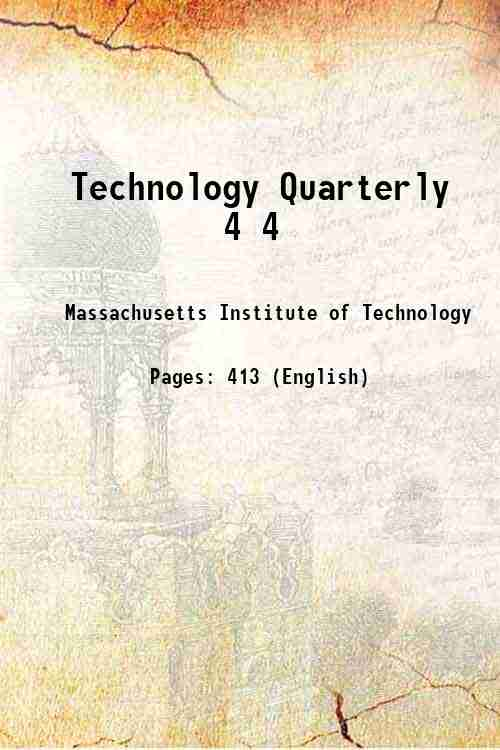 Technology Quarterly 4 4