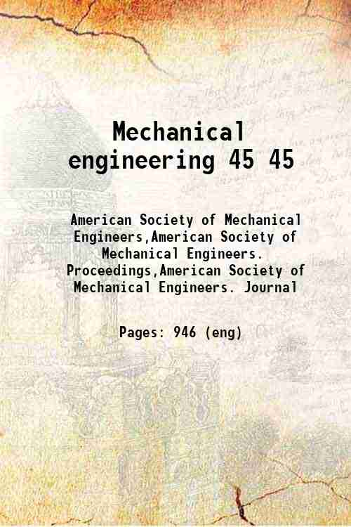 Mechanical engineering 45 45