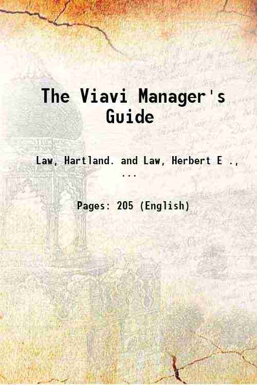 The Viavi Manager's Guide