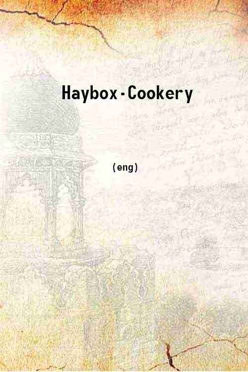 Haybox-Cookery