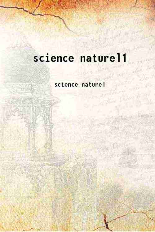 science naturel1