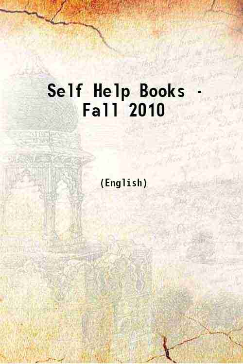 Self Help Books - Fall 2010