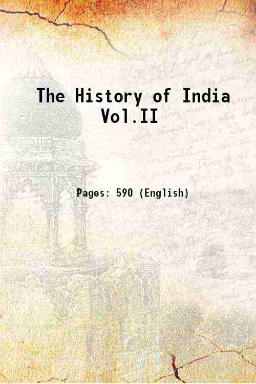 The History of India Vol.II