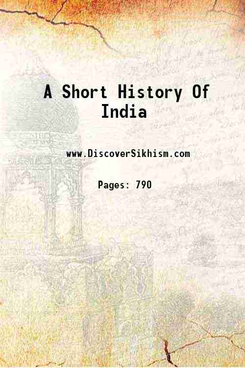 A Short History Of India