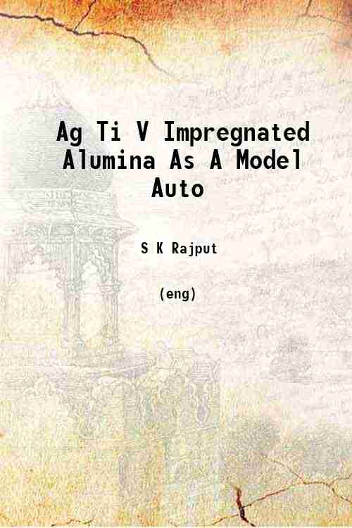 Ag Ti V Impregnated Alumina As A Model Auto