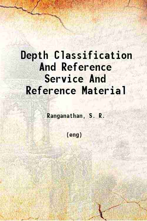 Depth Classification And Reference Service And Reference Material