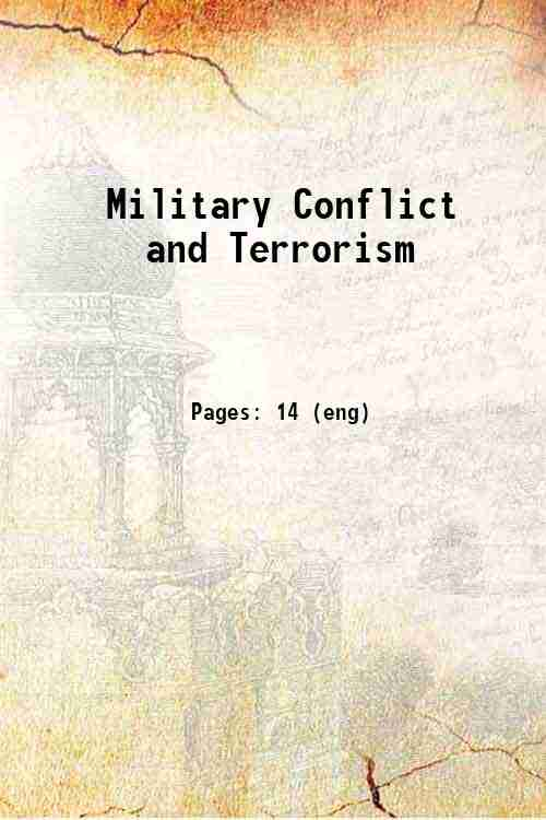 Military Conflict and Terrorism