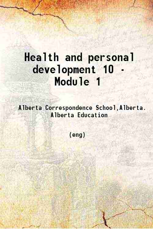 Health and personal development 10 - Module 1