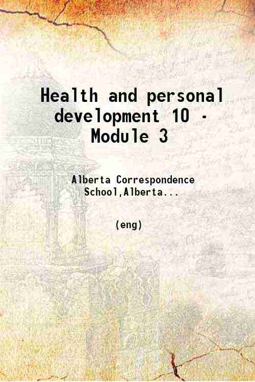 Health and personal development 10 - Module 3