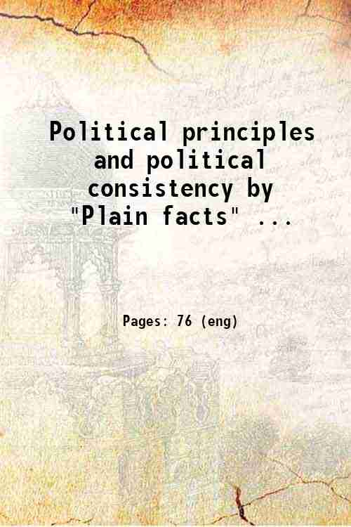 Political principles and political consistency by