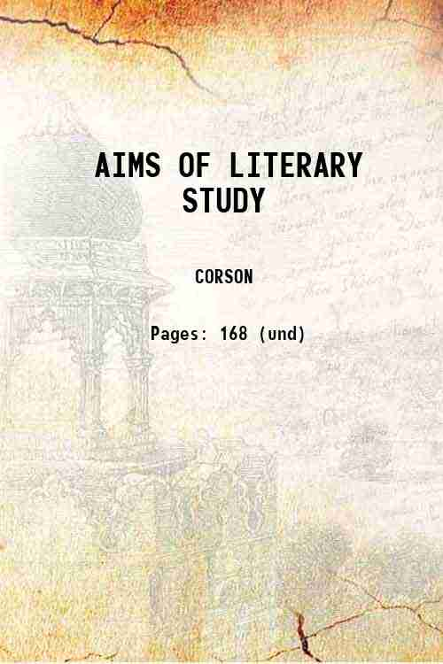 AIMS OF LITERARY STUDY