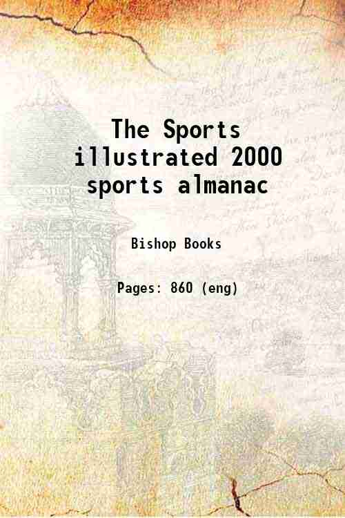 The Sports illustrated 2000 sports almanac