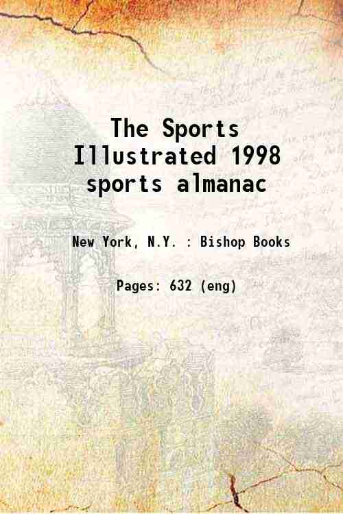 The Sports Illustrated 1998 sports almanac