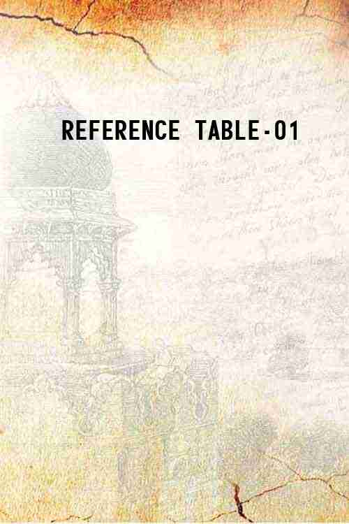 REFERENCE TABLE-01