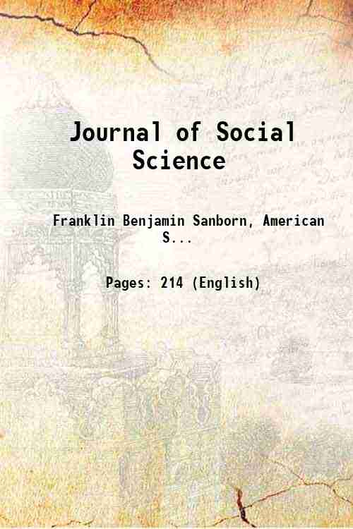 Journal of Social Science