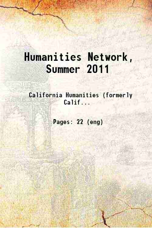 Humanities Network, Summer 2011